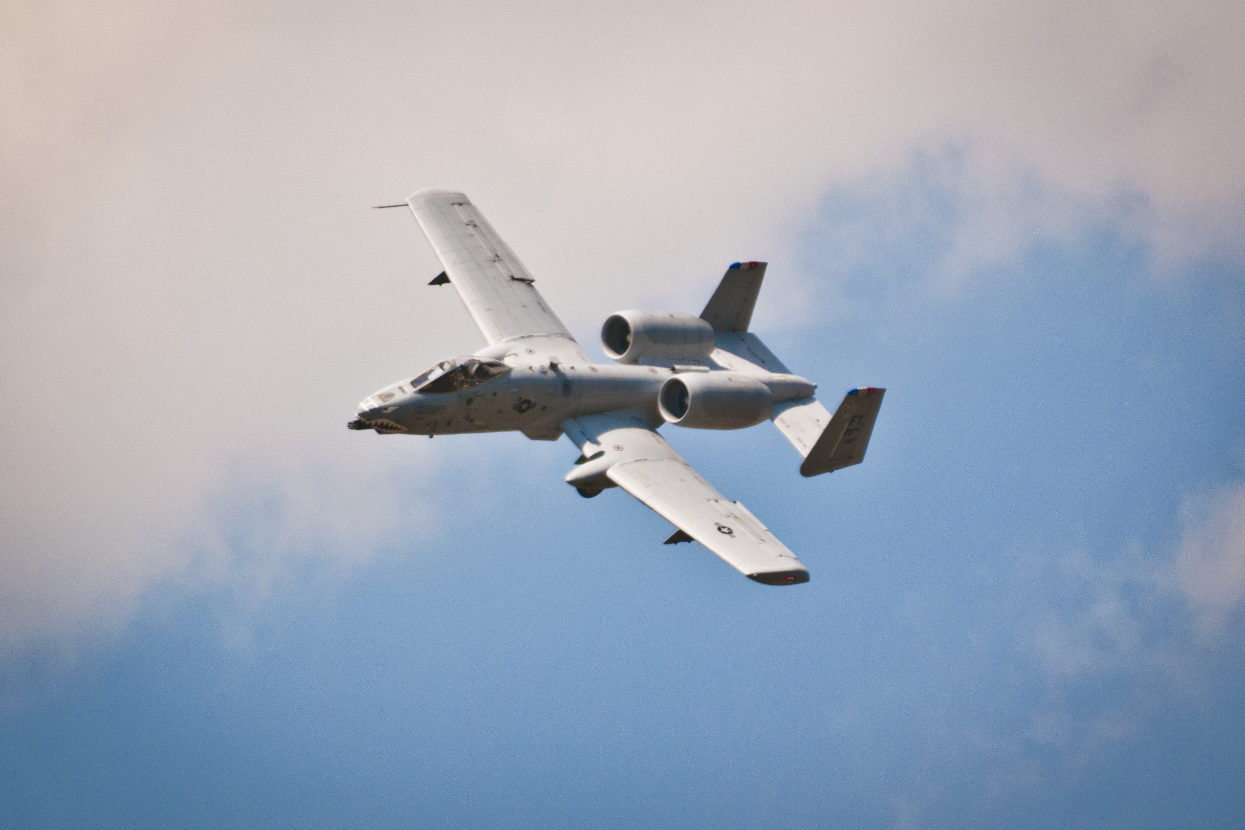 This is the A-10 that flew around while we were trying to eat lunch